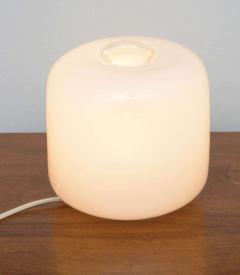 Alfredo Barbini Pair of Italian Modern Glass Lamps Marked Barbini - 348612