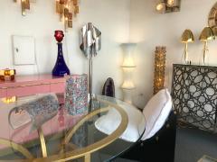 Alfredo Barbini Pair of Lamps Art Glass by Barbini Murano Italy 1980s - 544053