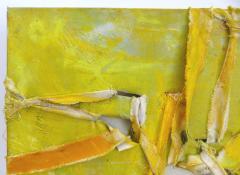 Alfredo Ulloa Alfredo Ulloa Pierre Yellow 1 Abstract Painting - 534632