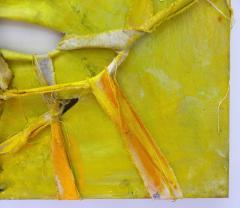 Alfredo Ulloa Alfredo Ulloa Pierre Yellow 1 Abstract Painting - 534634
