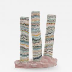 Alice Walton Mirasi Lock contemporary porcelain sculpture by Alice Walton - 1628646