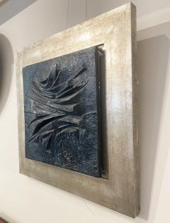 Alicia Penalba Stunning Bas relief by Alicia Penalba in metal alloy - 2091263