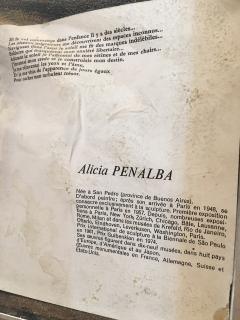 Alicia Penalba Stunning Bas relief by Alicia Penalba in metal alloy - 2091267
