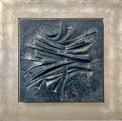 Alicia Penalba Stunning Bas relief by Alicia Penalba in metal alloy - 2091502