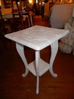 All Hand Carved Botanical 1920s French Side End Table - 1312009