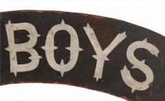 All Honor To The Boys In Blue Paint Decorated American Sign 1866 1880 - 577653