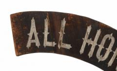 All Honor To The Boys In Blue Paint Decorated American Sign 1866 1880 - 577655