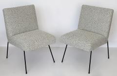 Allan Gould Pair of Allan Gould Style Iron Frame Lounge Chairs - 998929