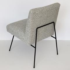 Allan Gould Pair of Allan Gould Style Iron Frame Lounge Chairs - 998933