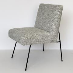 Allan Gould Pair of Allan Gould Style Iron Frame Lounge Chairs - 998936