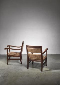 Alphons Fons Siebens Pair of Arts Crafts armchairs circa 1915 - 1300614