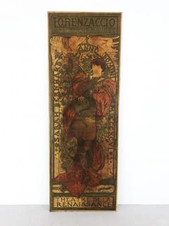 Alphonse Maria Mucha ALPHONSE MUCHA LORENZACCIO poster 1890 - 933021