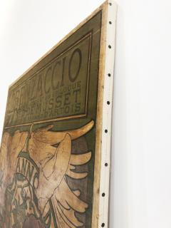 Alphonse Maria Mucha ALPHONSE MUCHA LORENZACCIO poster 1890 - 933022