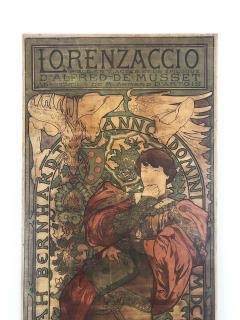 Alphonse Maria Mucha ALPHONSE MUCHA LORENZACCIO poster 1890 - 933023