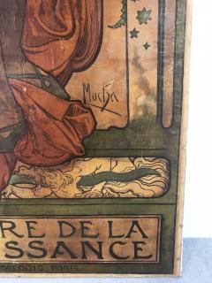 Alphonse Maria Mucha ALPHONSE MUCHA LORENZACCIO poster 1890 - 933025