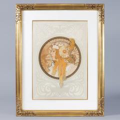 Alphonse Maria Mucha Byzantine Heads Lithographs by Alphonse Mucha - 318945