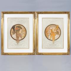 Alphonse Maria Mucha Byzantine Heads Lithographs by Alphonse Mucha - 318946