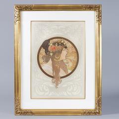 Alphonse Maria Mucha Byzantine Heads Lithographs by Alphonse Mucha - 318947