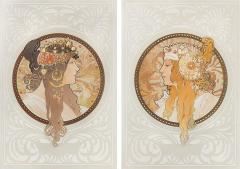 Alphonse Maria Mucha Byzantine Heads Lithographs by Alphonse Mucha - 318949