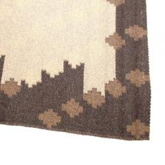 Altered Parallels Wool and Linen Carpet by Sally Vowell Gurley 1984 - 497222