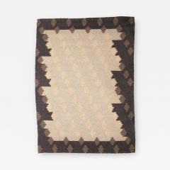 Altered Parallels Wool and Linen Carpet by Sally Vowell Gurley 1984 - 499900