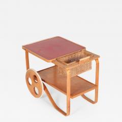 Alvar Aalto Alvar Aalto Bar Cart Wohnbedarf 30 s - 1482169