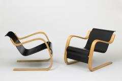 Alvar Aalto Pair of Pikku Paimio armchairs - 840341