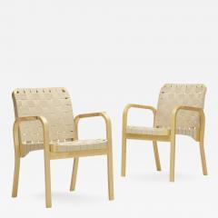 Alvar Aalto armchairs model 45 pair - 911203