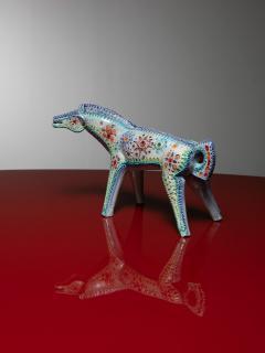 Alvino Bagni Ceramic Horse Sculpture by Alvino Bagni for Bitossi - 1179238