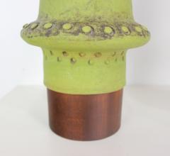 Alvino Bagni Pair of Hand Cast Ceramic Lamps by Alvino Bagni - 509555