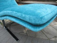 Amazing Chrome Chaise Longue for Brayton International - 1760281
