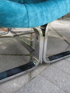 Amazing Chrome Chaise Longue for Brayton International - 1760285
