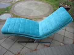 Amazing Chrome Chaise Longue for Brayton International - 1760290