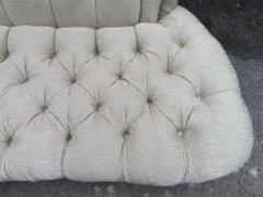 Amazing Fun Hollywood Regency Tall Tufted Back Loveseat - 1376060