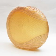 Amber and Gold Murano Battuto Vase - 1191187