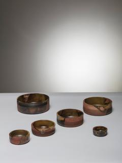 Ambrogio Pozzi Set of Nesting Ceramic Bowls by Ambrogio Pozzi for Ceramiche Pozzi - 906928
