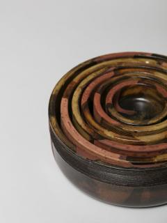 Ambrogio Pozzi Set of Nesting Ceramic Bowls by Ambrogio Pozzi for Ceramiche Pozzi - 906931