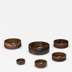 Ambrogio Pozzi Set of Nesting Ceramic Bowls by Ambrogio Pozzi for Ceramiche Pozzi - 907564