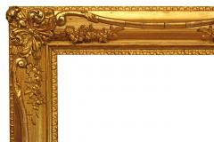 American 1890 Gilded Gesso Picture Frame 31x38  - 1128055