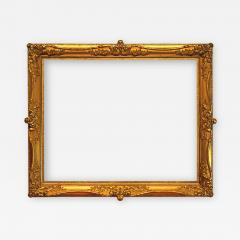 American 1890 Gilded Gesso Picture Frame 31x38  - 1128241