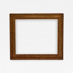 American 1920 Arts And Crafts Metal Leaf Picture Frame 25x30  - 1115135