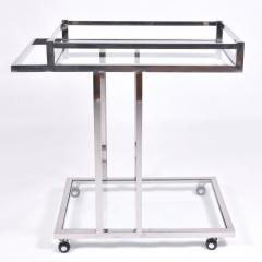 American 1970s chrome drinks serving trolley - 1463700