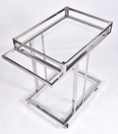 American 1970s chrome drinks serving trolley - 1463702