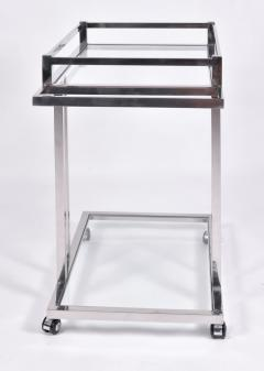 American 1970s chrome drinks serving trolley - 1463704