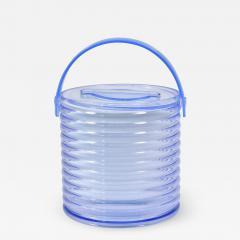 American 1970s purple Lucite ice bucket - 1473207
