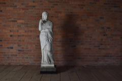 American 19th Century Greek Revival Marble Statue - 670679