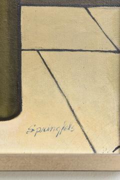 American 20th Century Oil on Canvas Robert Springfels - 2101870