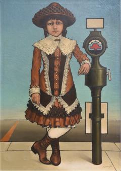 American 20th Century Oil on Canvas Robert Springfels - 2102117