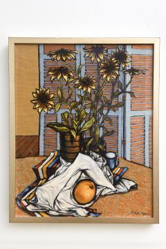 American 20th Century Surrealist Oil on Canvas Robert Springfels 1968 - 2101885