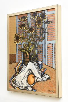 American 20th Century Surrealist Oil on Canvas Robert Springfels 1968 - 2101888